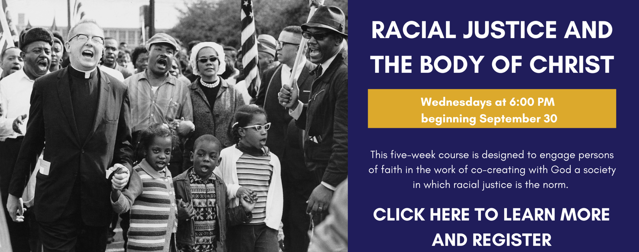 RACIAL JUSTICE AND THE BODY OF CHRIST (1)