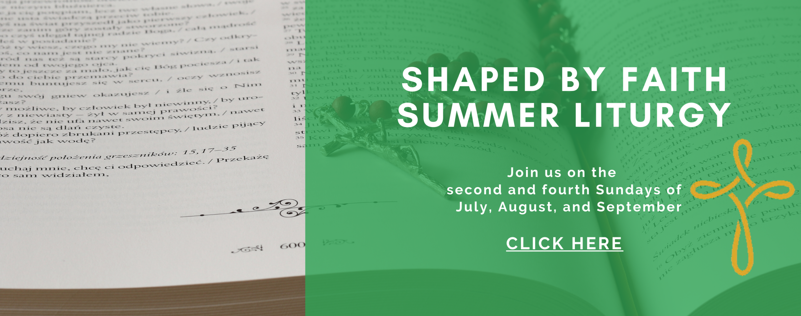 shaped by faith summer liturgy slider