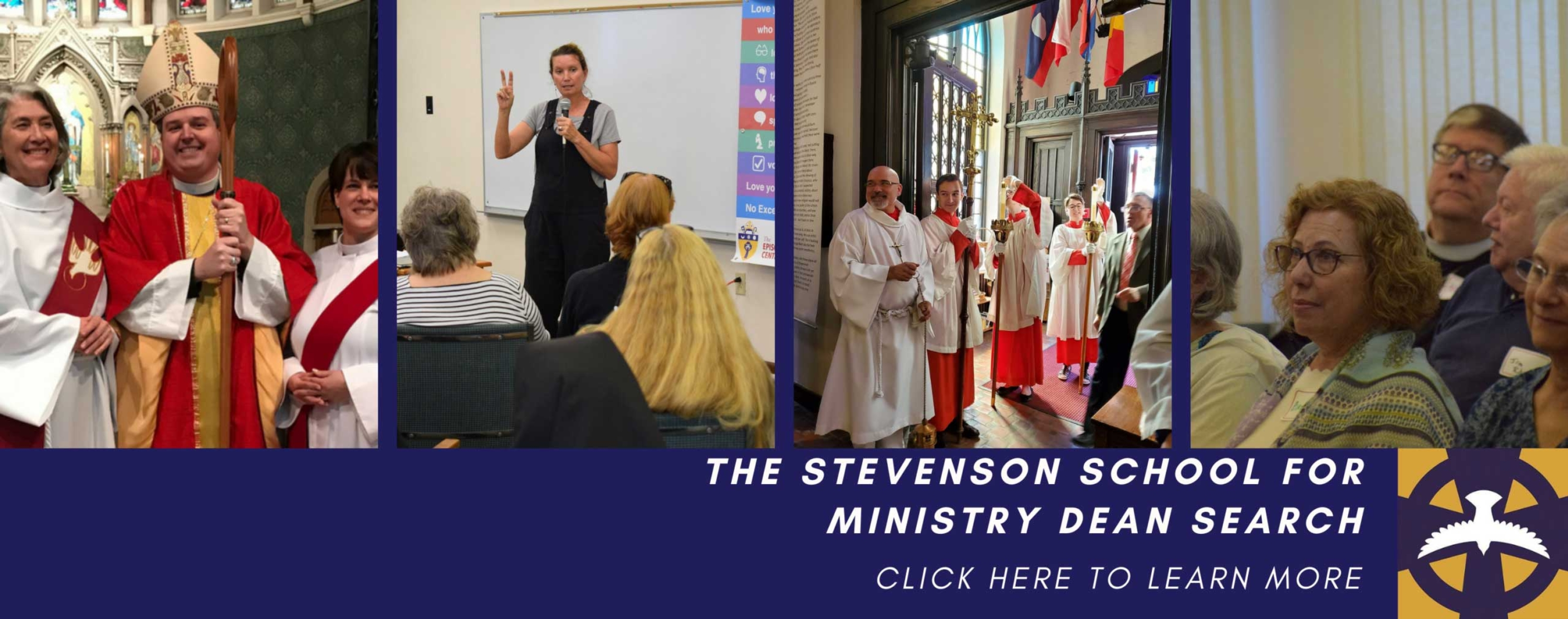 The Stevenson School for Ministry Dean Search-- Click to learn more